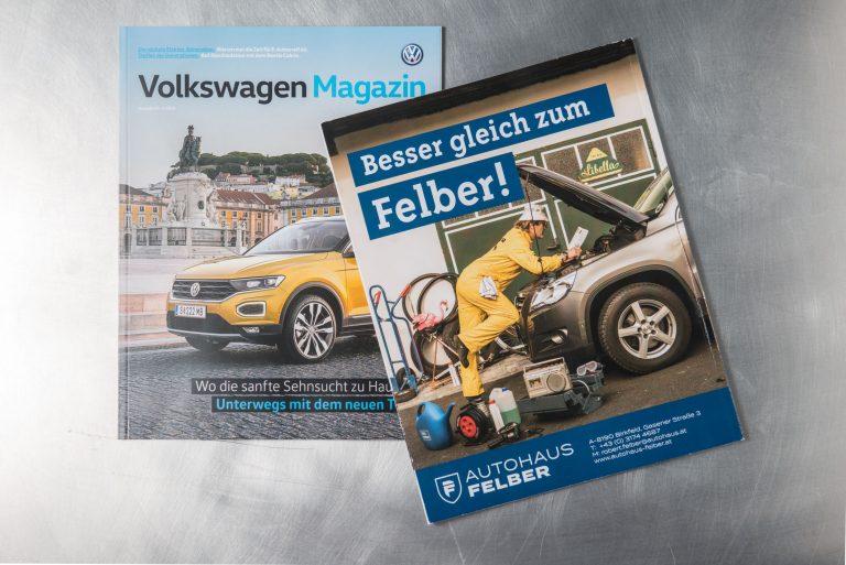 Inserat VW Magazin